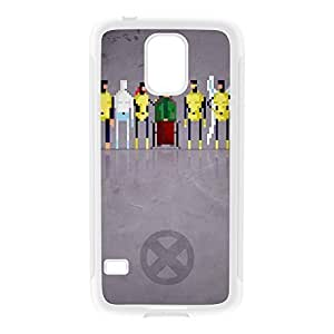 8Bit - Marvel Xmen Original White Silicon Rubber Case for Galaxy S5 by DevilleArt + FREE Crystal Clear Screen Protector