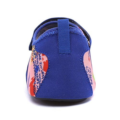 Smapavic Aqua Socken für Männer Frauen Barfuß Quick Dry Wasser Haut Schuhe für Beach Swim Surf Yoga Karte