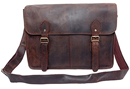 Image Unavailable. Image not available for. Colour  FeatherTouch Crossbody  Leather Bag Messenger Satchel ... cd5100c8ce553