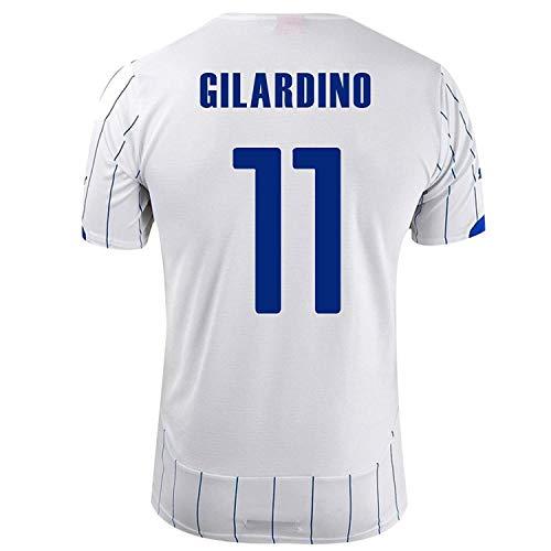 ビクター支援略奪PUMA GILARDINO #11 ITALY AWAY JERSEY WORLD CUP 2014/サッカーユニフォーム イタリア代表 レプリカ?アウェイ用 ワールドカップ2014 背番号11 ジラルディーノ