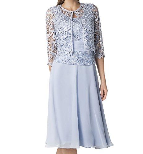 LaMarie Braut lilac Spitze Abendkleider Ballkleider ...