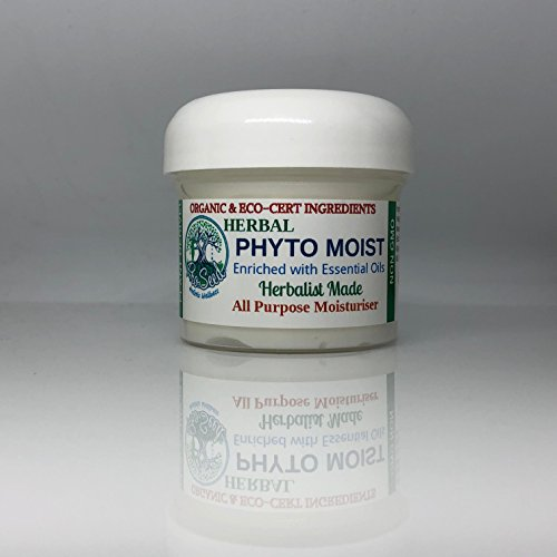 PHYTO MOIST Sun Protection All Natural Mineral Sun Screen Rejuvenating Anti-Aging Lotion for Sensitive Skin | Herbalist Made & Vegan | | Organic & EcoCert Ingredients by ProSeed Holistic Wellness