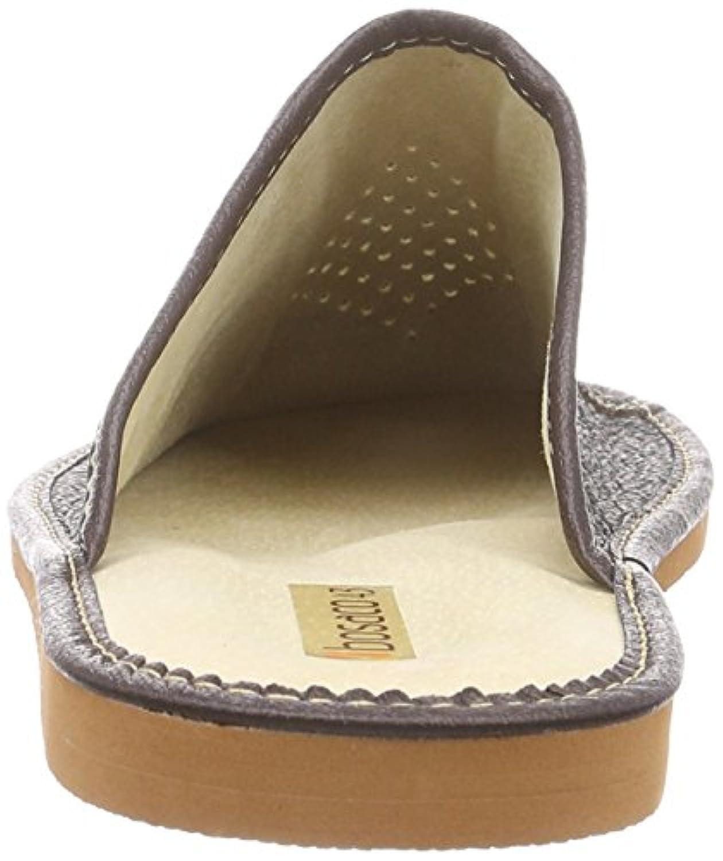 Bosaco | Slippers | 100% leather | Size: 7.5 UK