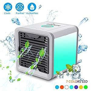 Personal Portable Air Space AC Cooler - 3 In 1 USB Mini Humi