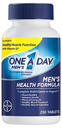 One A Day Men's Health Formula Multivitamin, 250 (Mens Health Formula)