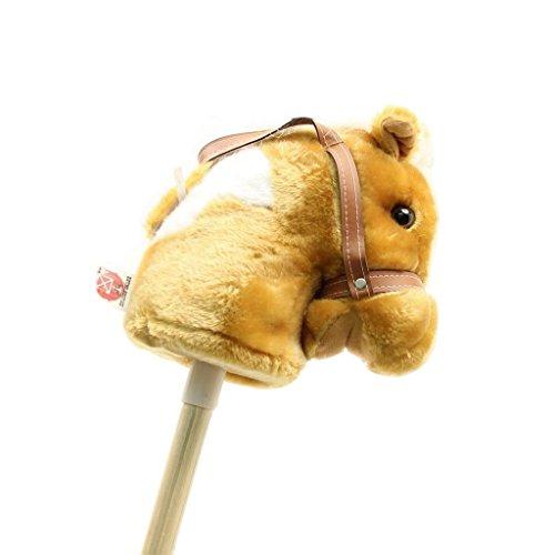 M & F Western Boys' Stick Pony With Sounds Brown One Size [Toy]
