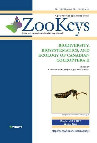 Biodiversity, Biosystematics, and Ecology of Canadian Coleoptera II (Zookeys)