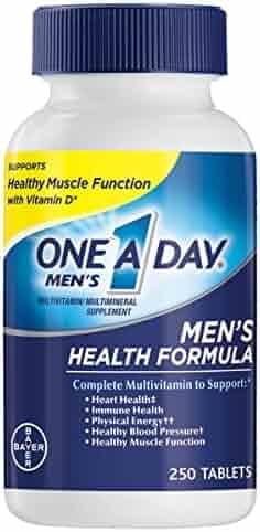 One A Day Men's Health Formula Multivitamin, 250 Count