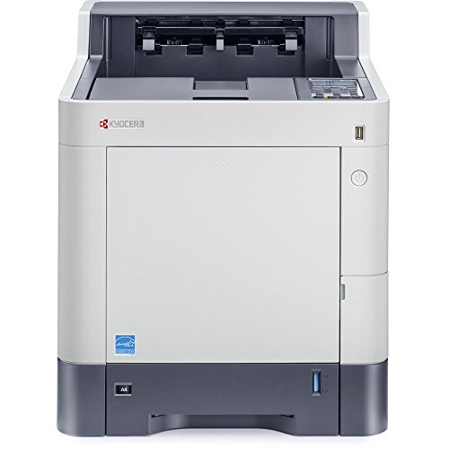 Kyocera 1102NS2US0 ECOSYS P6035cdn Color Network Printer, Up To 37 PPM, Print Resolution 600 x 600 DPI and 9600 x 600 Multi Bit Interpolated, Up To 3 Paper Trays