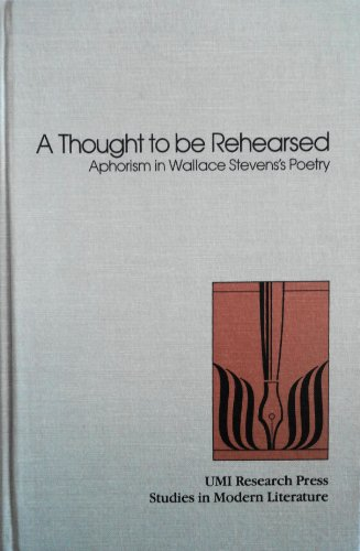 analysis of wallace stevens on modern poetry essay Free essay: a critical appreciation of wallace stevens  a critical appreciation of wallace steven's  wallace stevens' text of modern poetry circulates.