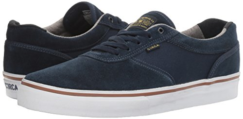 C1RCA Men's Gravette Independent Durable Cushioned Skate Skateboarding Shoe, Dress Blues/Chambray, 9 M US