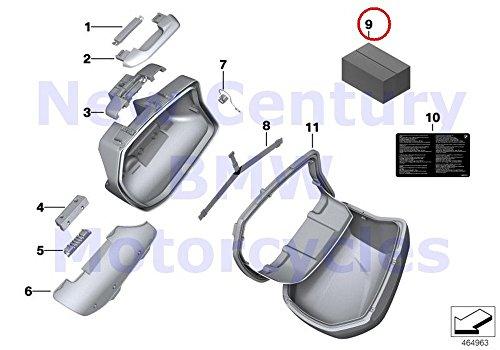 BMW Genuine Motorcycle Case Fastening Set R1200S K1200S K1300S K1200R K1200R Sport K1300R S1000XR R1200R F800GT F800S F800ST F800R -  BMW7680840