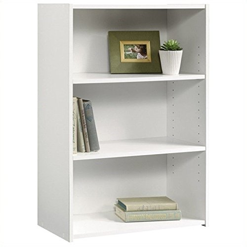 Sauder Beginnings 3-Shelf Bookcase, Soft (3 Shelf)