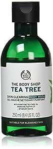 The Body Shop Tea Tree Body Wash, Made with Tea Tree Oil, 100% Vegan, 8.4 fl. oz.