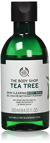 The Body Shop Tea Tree Skin Clearing Body Wash, 8.4 Fl Oz (Vegan)