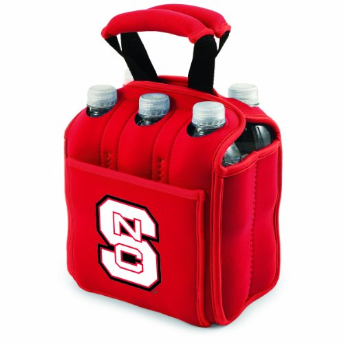 - PICNIC TIME NCAA North Carolina State Wolfpack Six Pack Cooler Tote