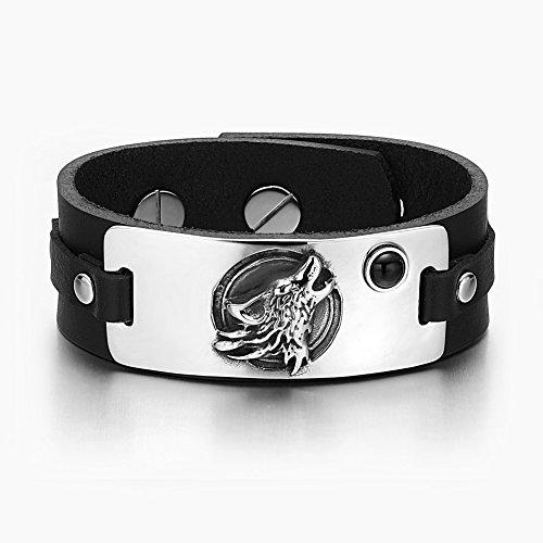 Howling Courage Simulated Adjustable Bracelet product image