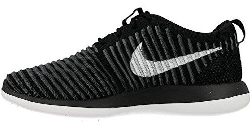 Nike Kids Roshe Two Flyknit (gs) Hardloopschoenen Zwart