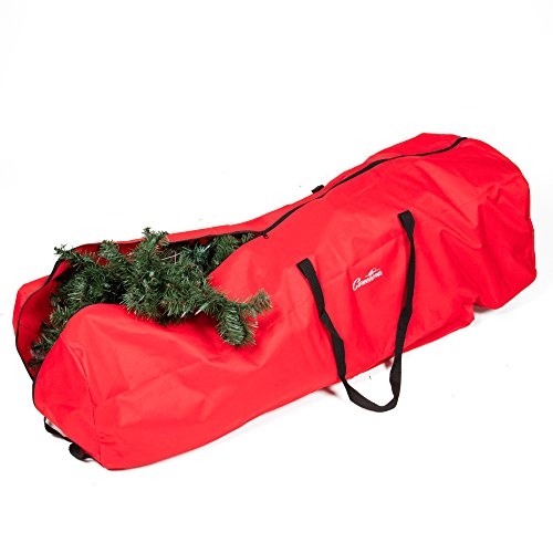 Christmas Tree Upright Storage Bag With Wheels - 4