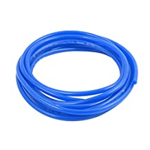 uxcell® 4mm x 6mm Pneumatic Air Compressor Tubing PU Hose Tube Pipe 3.5 meter Blue