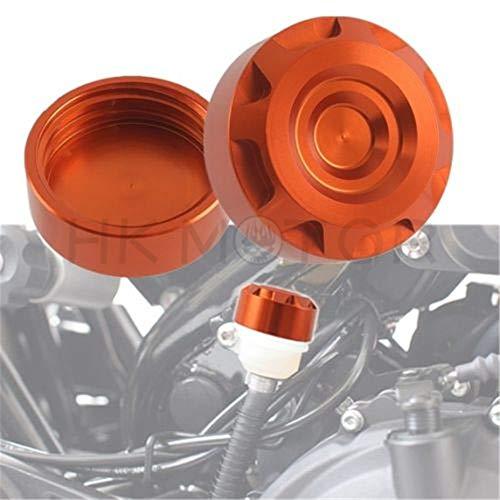 HongK- Rear Brake Fluid Reservoir Cover Cap For KTM DUKE/690/1290/RC8/1090/1190/ADV/R/S