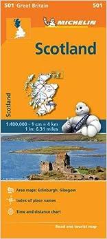 Mapa Regional Scotland (escocia) por Michelin epub