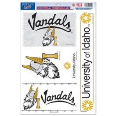 WinCraft Idaho Vandals Ultra Decal - 11'' X 17''