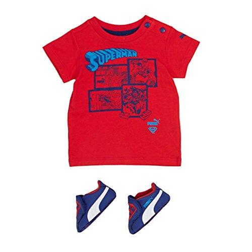 Puma CRIB PACK SUPERMAN 2 Chaussures Mode T shirt Bebe Bleu Rouge PUMA