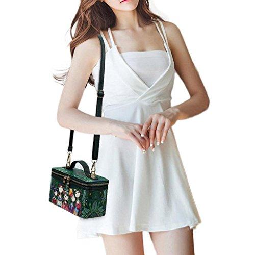 Bag Motif à Impression Body Loisirs Cross ForêT Carré Femmes Trydoit Sac Main Filles wqnIWX8PP