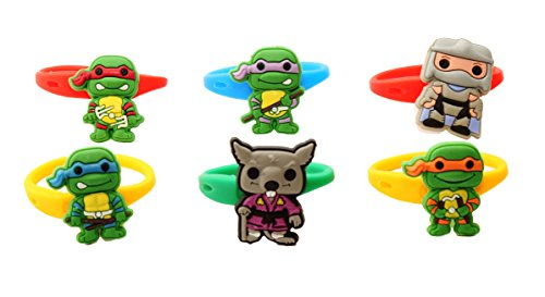 AVIRGO 6 pcs Colorful Releasable Ponytail Holder Elastic Rubber Stretchable No-slip Hair Tie Set # (April From Tmnt Costumes)