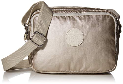 Kipling Women's Silen Crossbody Bag, cloud Metal, One Size