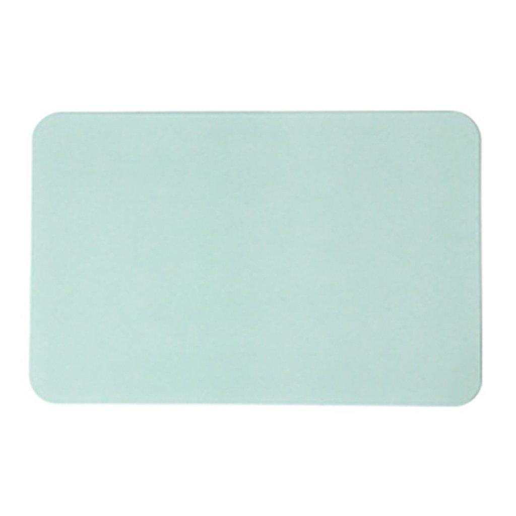 Bathroom absorbent mat Anti-Rutsch-Matte Diatomeenerde Pad Pad Pad Schnell trocknende Deo Rechteckige Duschmatte Antibakterielle Größe  400mm  300mm  9mm (Farbe   Light Grün) B07F11HPN4 Duschmatten c6ed58
