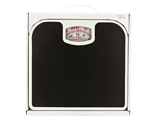 K&A Company Mechanical Bathroom Scale with Non-Skid Surface Case of 4