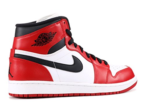 Nike Air Jordan 1 Retro High-chic Lederen Basketbalschoenen