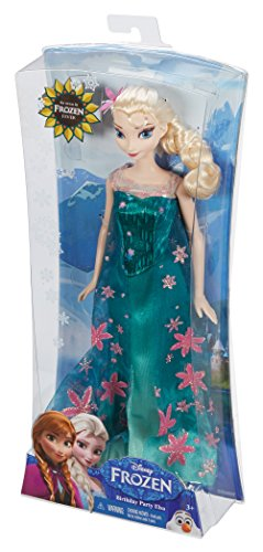 Disney Frozen Fever Birthday Party Elsa Doll (Discontinued by manufacturer)