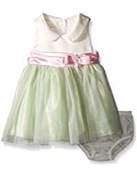 Baby Girls' Party Dress With Collar