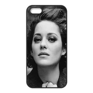 Celebrities Marion Cotillard iPhone 4 4s Cell Phone Case Black DIY GIFT pp001_8194621