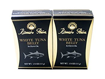 White Tuna Belly in Olive Oil by Ramon Pena (2 Pack)