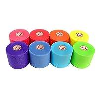 Mueller Rainbow Pack de pre-envoltura deportiva (8 colores!), 30 yardas, Rainbow