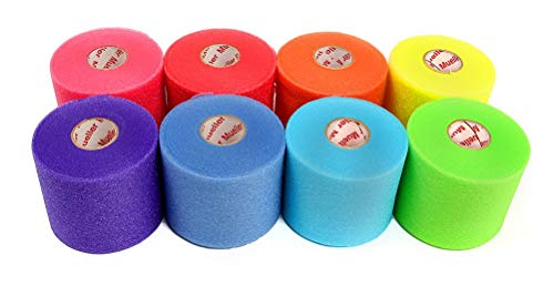 (Mueller Rainbow Pack of Sports Pre-Wrap (8 colors!),30 Yards,Rainbow)