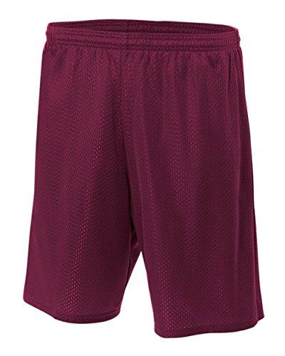 oly Mesh Moisture Wicking Athletic Shorts ()