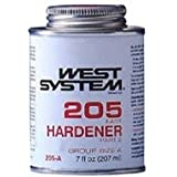 NEW WEST SYSTEM EPOXY 205A FAST HARDENER