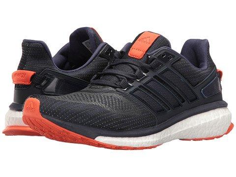 (アディダス) adidas メンズランニングシューズスニーカー靴 Energy Boost 3 Night Navy/Midnight Grey/Energy Orange 8 26cm D - Medium [並行輸入品] B07685N4WC