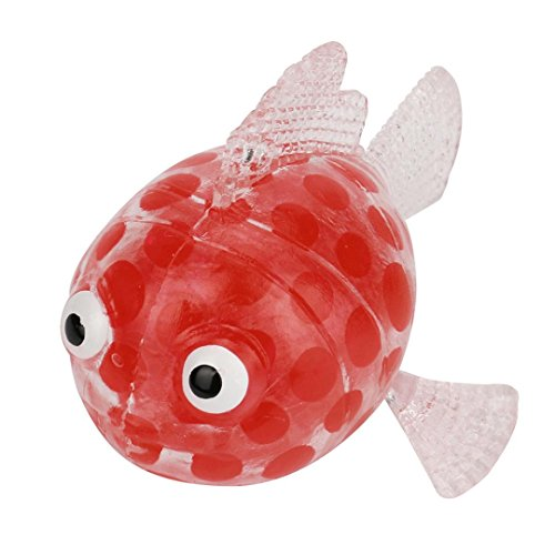 (Stress Relief Ball for Kids Adults Squishies Jumbo Cuekondy Cute Carp Fish and Pig Bead Stress Ball Sticky Squeeze Toy Sensory Toy (Random 2))