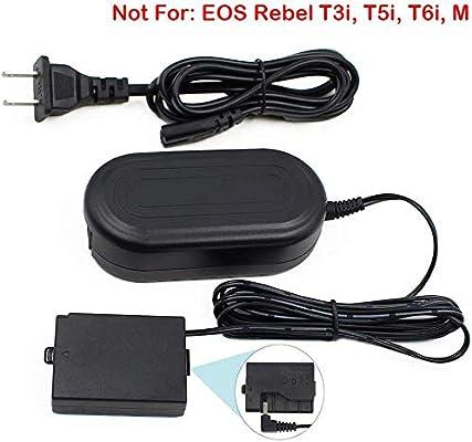 EOS Rebel T5 // Ladegerät für Canon ACK-E10 für EOS 1100D 1200D 1300D Rebel T3