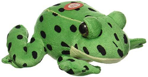 Wild Republic Northern Leopard Frog Watch Childrens Plush Cuddly Soft Toy Animal