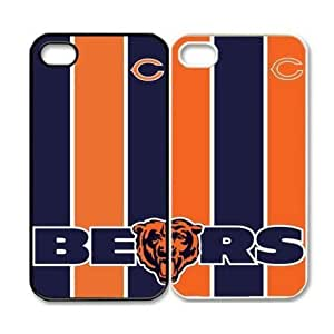 tina gage eunice's Shop Christmas Gifts Fitted iPhone 4/4s Cases NFL Bears logo back covers for lovers