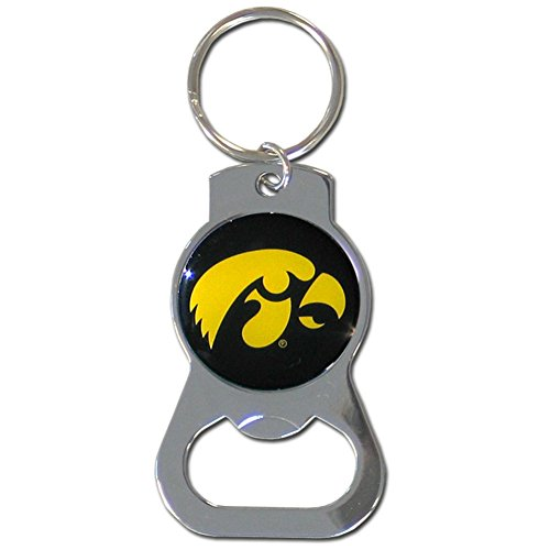 NCAA Iowa Hawkeyes Bottle Opener Key Chain - Iowa Hawkeyes Logo Keychain