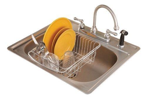 WalterDrake Over The Sink Dish Drainer Rack Model: Kitchen