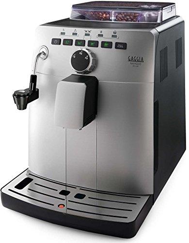 Gaggia HD8749/11 – Cafetera (Independiente, Máquina espresso, 1,5 L, Molinillo integrado, 1850 W, Plata)